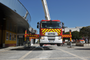 Renault Trucks D Firefighters in intervention
